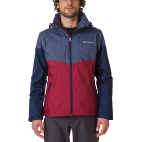 Columbia Inner Limits Jacke Herren red jasper/dark mountain